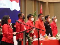 Rakercab PDI Kota Manado Dihadiri Andrei Angouw dan Richard Sualang