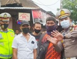 Satlantas Polres Bitung Berlakukan Batasan Kendaraan Melintasi Area Pasar Girian
