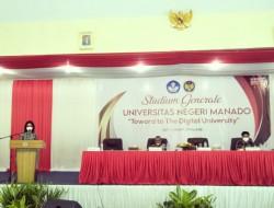 Jawab Tantangan Zaman, Unima Toward to Digital University