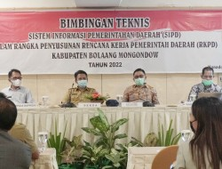 Pemkab dan DPRD Bolmong Gelar Bimtek SIPD Penyusunan RKPD Tahun 2022