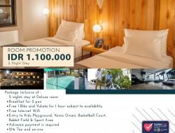 Ini Rincian Promo Nginap di Yama Resort Tondano