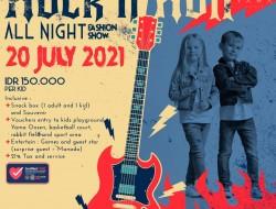 Ayo Join Rock and Roll All Night Fashion Show Yama Resort
