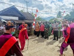 Bupati Bolmong Sambut Kunjungan Pangdam XIII Merdeka Bersama Kapolda Sulut ke Kampung Tangguh