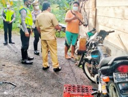 Satlantas Polres Bitung Sosialisasi Kamseltibcar Lantas di Kelurahan Tertib Berlalulintas