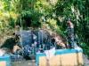 Dihari ke-8 DAN-SST Satgas TMMD ke-111, Mendistribusi dan Meninjau Langsung Pekerjaan Fisik