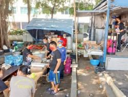 Dinsos Pemkot Bitung Buka 'Dapur Umum' Bagi Warga Terdampak Bencana Kebakaran