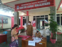 Ratusan Orang Daftar Ketua Lingkungan, Kecamatan Malalayang Utamakan Protokol Kesehatan