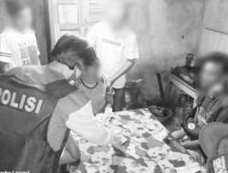 Asik Berjudi! Lima Warga 'Candi' Diamankan Tim Tarsius Polres Bitung