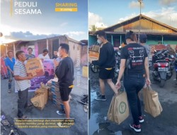 Cerita Selebgram Asal Kota Bitung, Alvando Hamber dan Korban Bencana Kebakaran