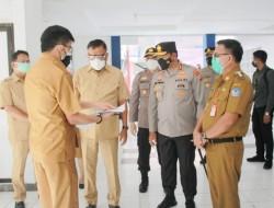 Gubernur Sulut Tinjau Rusunawa Tower Tenggiri yang Dijadikan Sebagai RS Darurat Pemkot Bitung