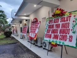Dukungan Berdatangan Untuk Nakes RSUP Kandou Manado bersama Lawan Covid-19