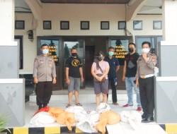 Polsek Matuari Berhasil Amankan Puluhan Liter'Cap Tikus'