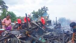 Si Jago Merah Melalap Salah Satu Rumah Warga Kelurahan Batuputih Atas