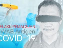 Oknum Petugas RS Berhasil Diamankan Tim Resmob Polres Bitung Gegara Palsukan SWAB Antigen