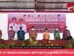 Dewan Smart City Dikukuhkan, Bimtek Master Plan Digelar di Minahasa