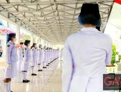 Wakil Walikota Bitung Kuhkuhkan 48 Orang Paskibraka Tahun 2021