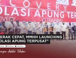 KM Tatamailau Resmi Sebagai Kapal Isolasi Apung Terpusat Pasien Covid-19 di Kota Bitung