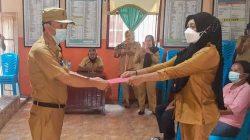 Sangadi Ambang Dua Resmi Ditahan Polres Bolmong
