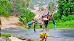 Sejumlah Desa di Kecamatan Sangtombolang Dilanda Banjir