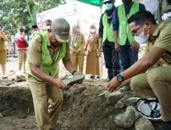 Peletakan Batu Pertama Islamic Center, Pontoh Apresiasi Gubernur dan Wagub