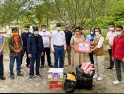 Yasti Terima Bantuan dari Bupati Sitaro untuk Korban Bencana