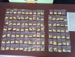 Satres Narkoba Polresta Manado Amankan Pengedar Obat Keras