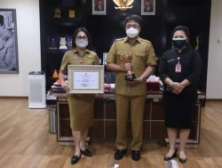 Wujudkan Kesetaraan Gender, Pemkot Manado Raih Anugerah Parahita Ekapraya