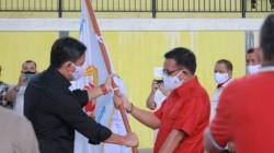 Maurits Mantiri Resmi Nakhodai KONI Kota Bitung