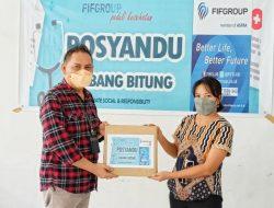 "FIFGROUP Cabang Bitung Bantu Posyandu Puskesmas Matuari Melalui Program ""FIFGROUP Peduli Kesehatan"""